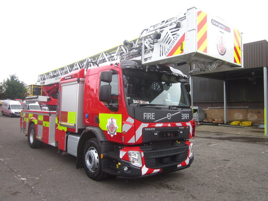 TTL Ladder, Magris, Fire Engine, Fire truck, Manufactured by Emergency One