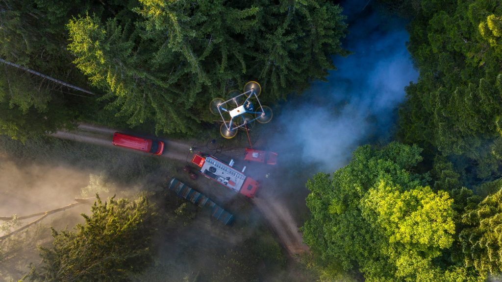 Fotokite, Emergency One, Fire Engine, Firefighting Equipment