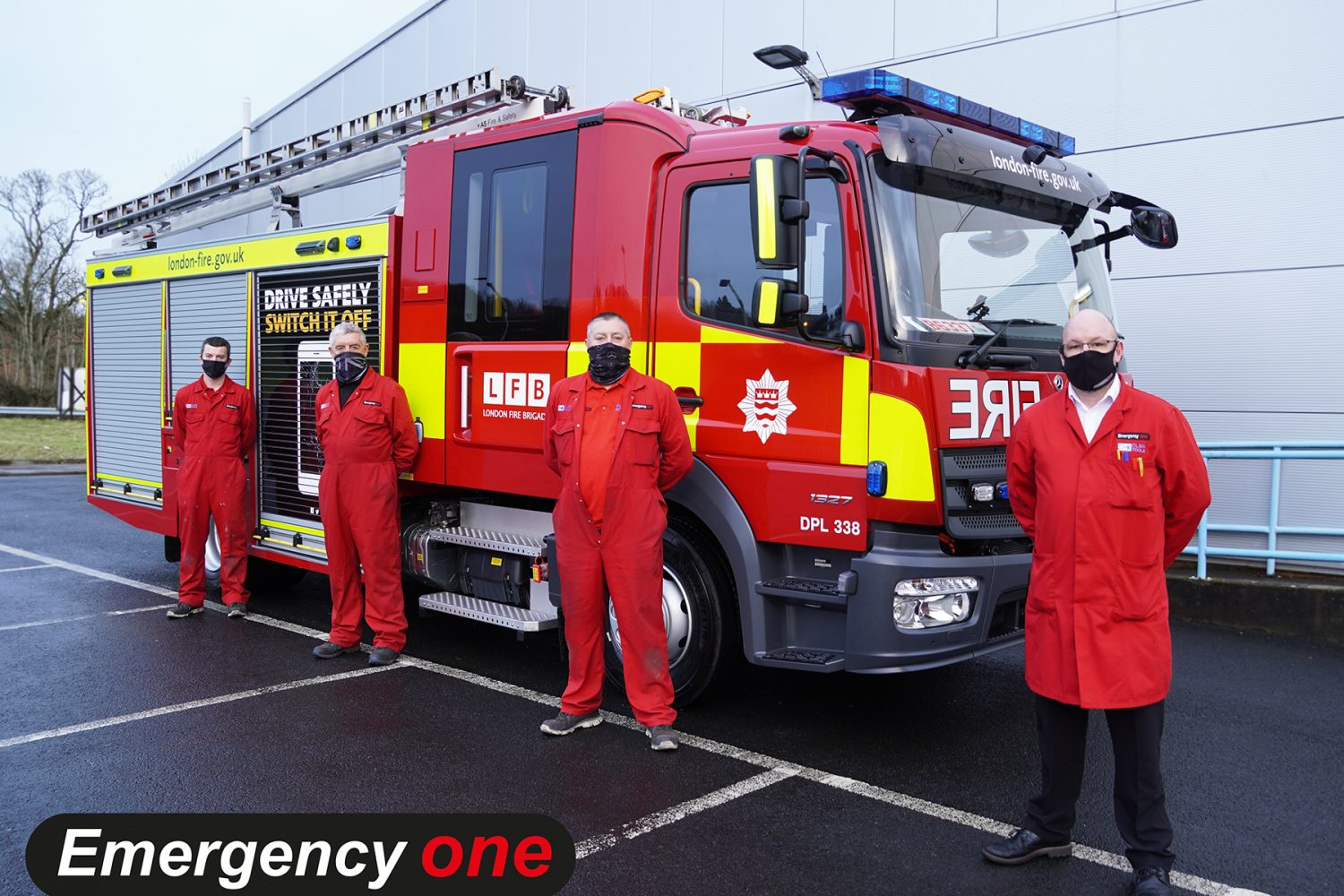 emergency one, fire engine, manufacturers, UK, apprenticeships, business, community